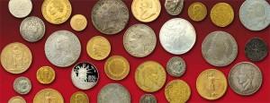 Monnaie numismatique à versailles