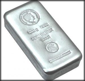 lingot argent 1 Kg