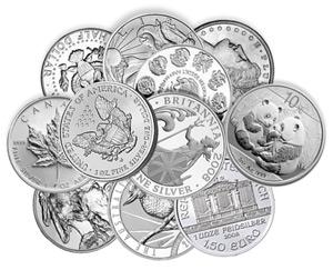 Investir dans les onces argent modernes