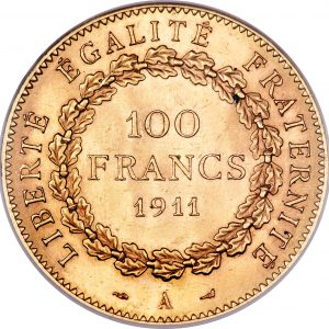 100 Francs or Godot & Fils