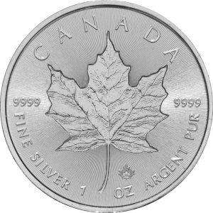 Maple Leaf argent